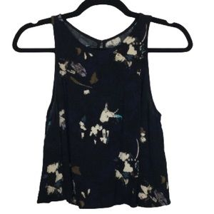 Wilfred Aritzia Octave Sleeveless Floral Blouse
